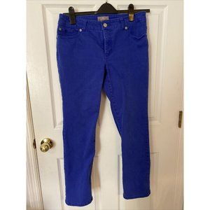 Chico's So Slimming 0.5 Short Royal Blue Jeans